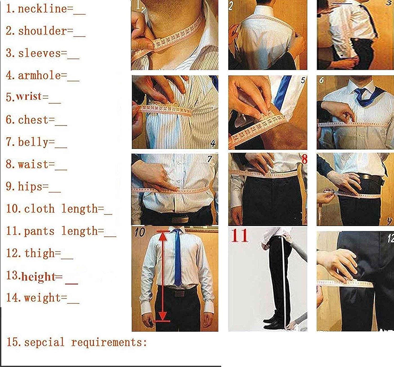 Aderente con Un Bottone per Sposa Blazer + Pantaloni Casual Solove-Suit Tuxedos da Uomo in Due Pezzi per Matrimonio
