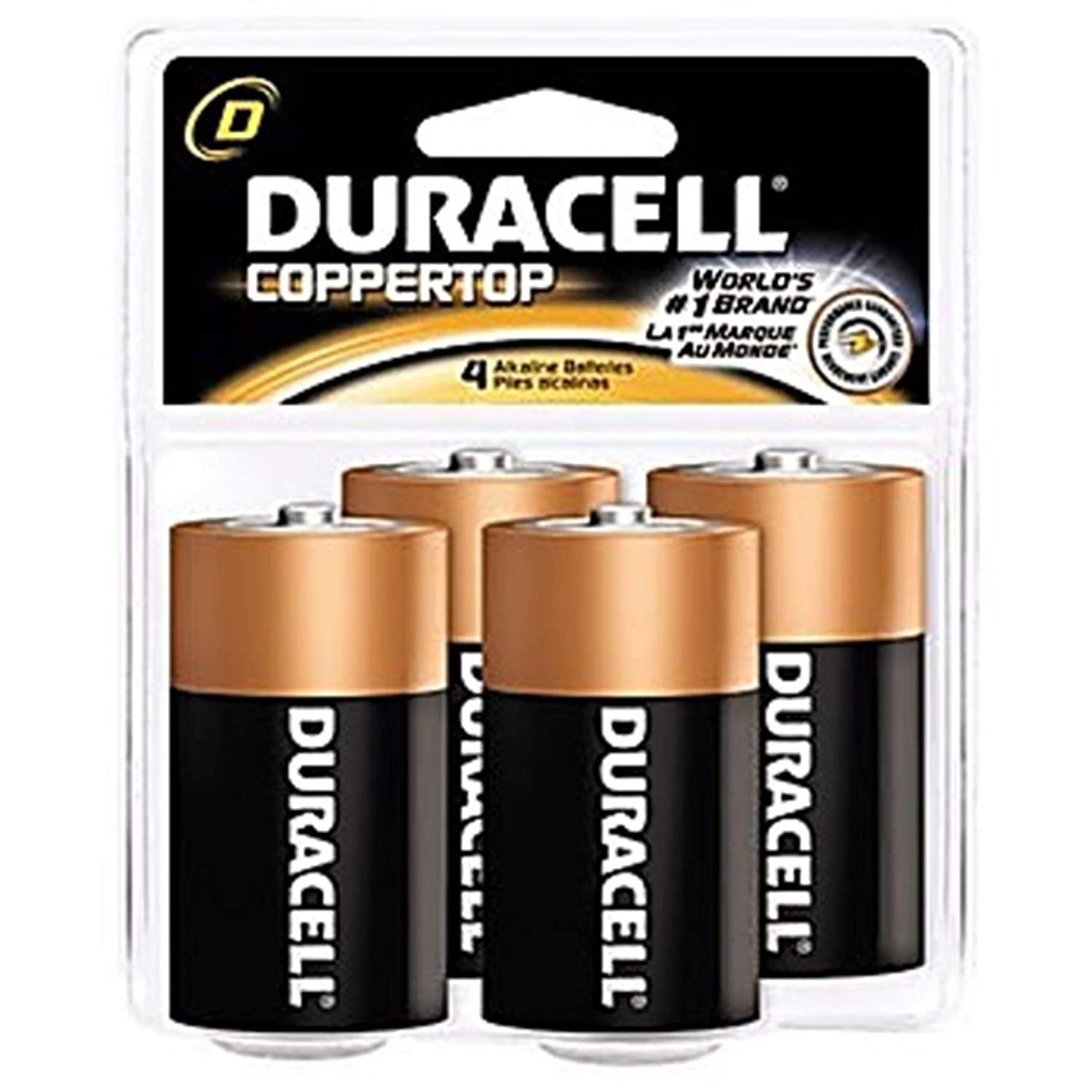 Image of AAA Duracell PGD MN2400B2Z Coppertop Retail Battery, Alkaline, AAA Size (Pack of 108)