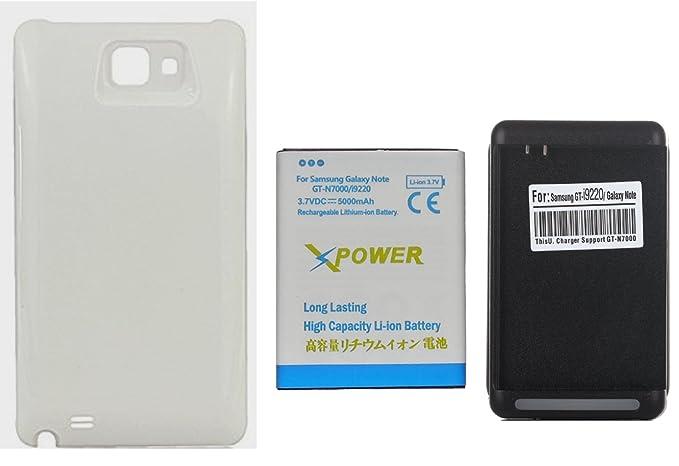 Amazon.com: X-Power 5000mAh Batería Extendida con Carcasa ...