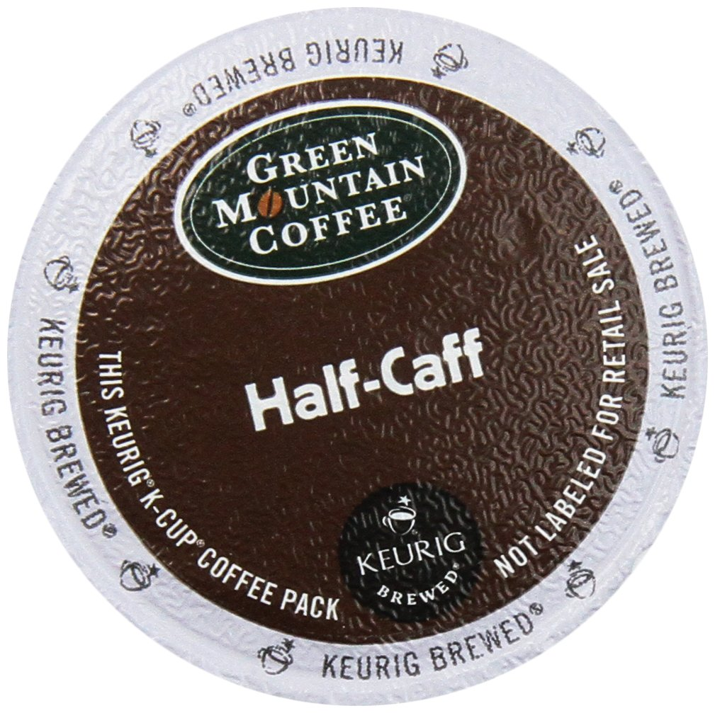 Green Mountain Coffee K-Cup for Keurig K-Cup Brewers, Half-Caff (Pack of 48)