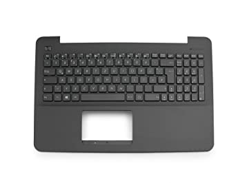 ipc-computer Teclado (de) Incluye Topcase (Negro, Panal de Abeja) para ASUS x555lb Serie: Amazon.es: Electrónica
