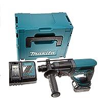 Makita DHR202RM1J Makpac Perforateur burineur SDS plus + 1 batterie 18V 4Ah Li-ion + coffret 20 mm