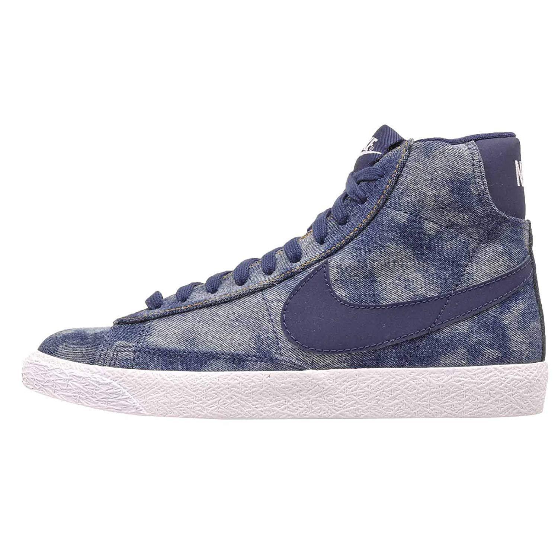 huge selection of 290dc 112c9 Amazon.com   Nike Blazer MID (GS) Midnight Navy Midnight Navy   Sneakers