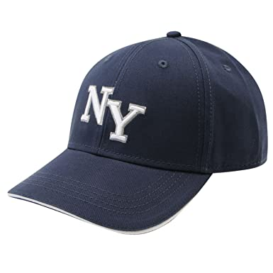 No Fear Mens NY Cap Hat Accessory Fashion Stylish Everyday Casual Sun New  Navy Mens  Amazon.co.uk  Clothing 4cb21803e20