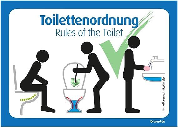 immi 4 x WC Instrucciones de Uso para Sentado pinkeln - como ...
