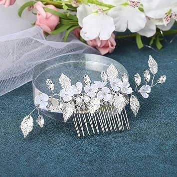 Haarkamm Blätter Hochzeit Kopfschmuck Haarschmuck