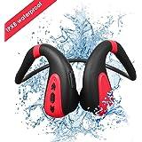 Swimming MP3 Player Bluetooth 5.0 Bone Conduction Bluetooth Headset Headphone 8G MP3 Player Waterproof Wireless Sport Headset Swimming MP3 Player