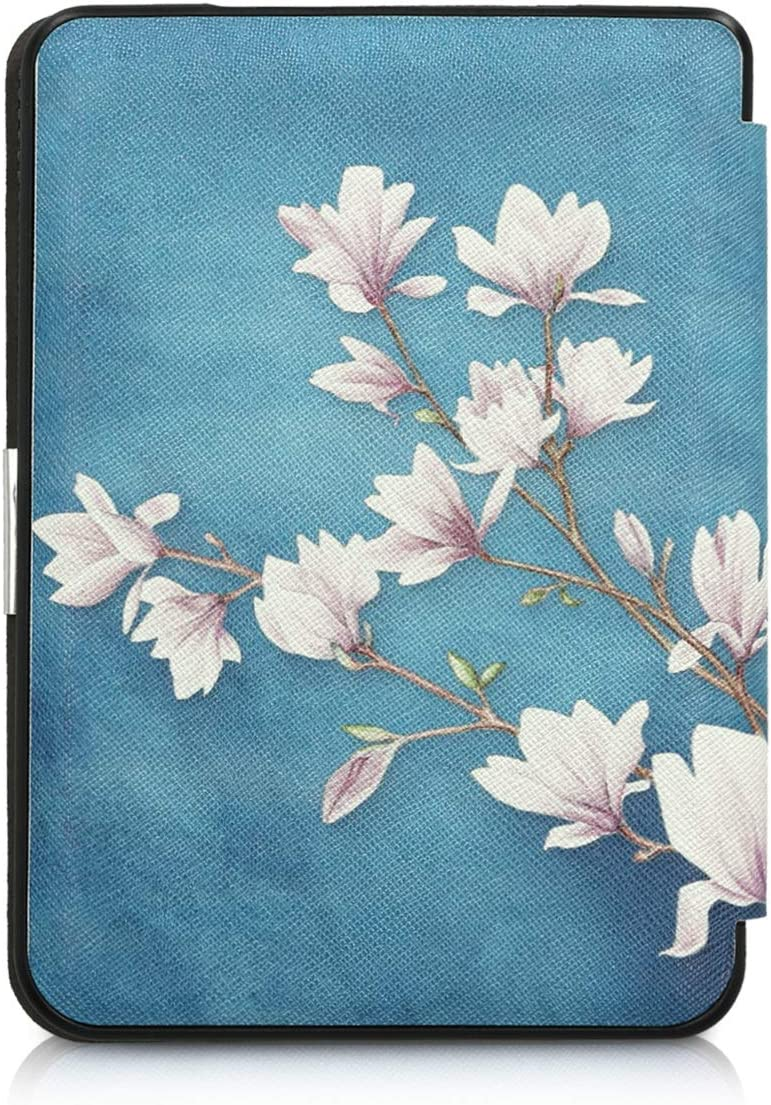 para eReader Magnolias kwmobile Funda Compatible con Kobo Clara HD