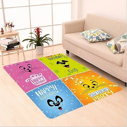 Amazon Com Nalahome Custom Carpet Thday Decorations For Kids