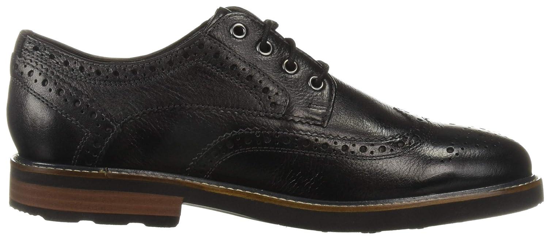 Nunn Bush Mens Oakdale Wingtip Oxford Lace Up with Kore Comfort Walking Technology Shoe