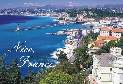 Amazon Com Nice France French Riviera Mediterranean Sea Beach Souvenir Magnet 2 X 3 Photo Fridge Magnet Kitchen Dining