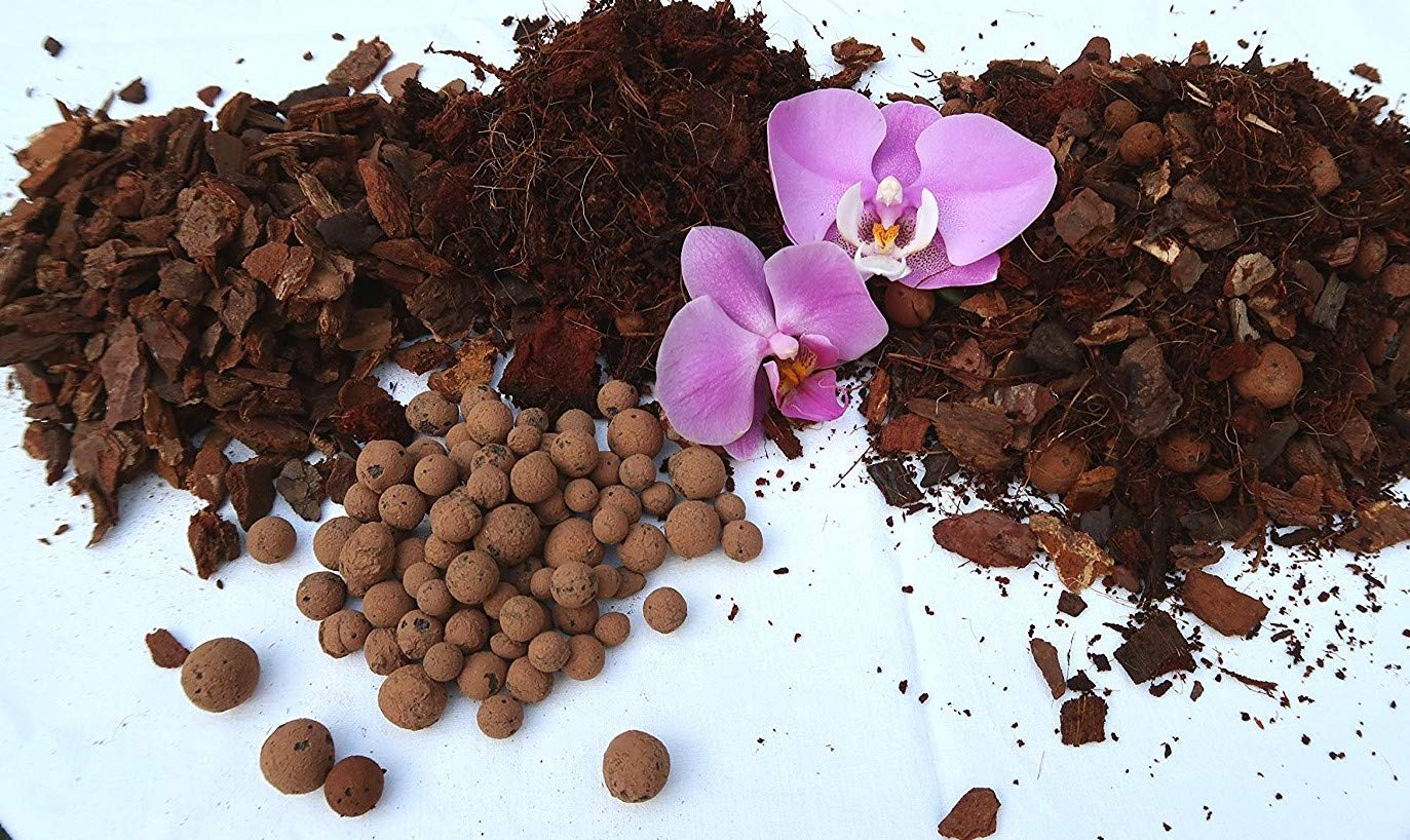 Soil for Orchids, substrate Orchid Phalaenopsis Soil, Premium Special Mix 5 L Waterbirds