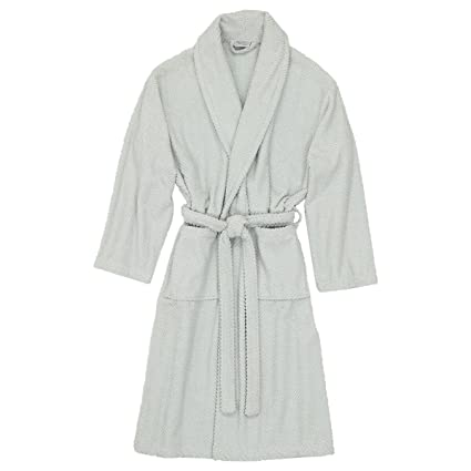 06f8ac8791 Image Unavailable. Image not available for. Color  Linum Home Textiles  Unisex Herringbone Weave Bathrobe 100% Authentic Turkish Cotton ...
