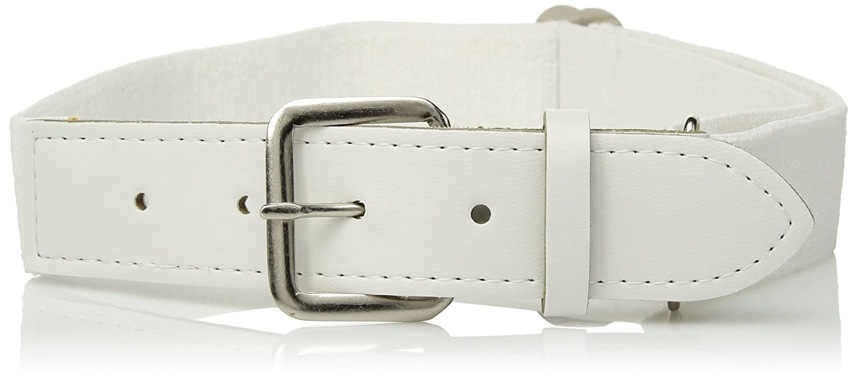 Augusta Sportswear メンズゴム野球ベルト B00HH89T0A One Size|ホワイト ホワイト One Size