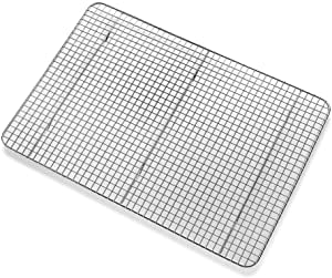 CIA Masters Collection 12 Inch x 17 Inch Wire Cooling Rack, Chrome Plate Steel