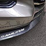 HengJia Auto Parts Universal Fit Carbon-Fiber Car Front Bumper Spoiler Lip ?Splitter Side Skirt Roof Spoiler100…