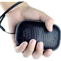 Reacher Mini Enceinte Bluetooth Portable Etanche avec Micro Intégré Lecteur Mp3 radio FM, carte Micro TF SD,Haut-Parleur Sans Fil Stéréo portable–Noir