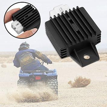 90cc 110cc 125cc 140cc 200cc Pit Dirt Quad Bike For ATV Motorbike Motorcycle 4 Pin Voltage Regulator Rectifier black /& white