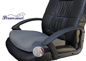 Amazon.com: Memory Foam Seat Cushion Integrated w/Cool Gel Pad for