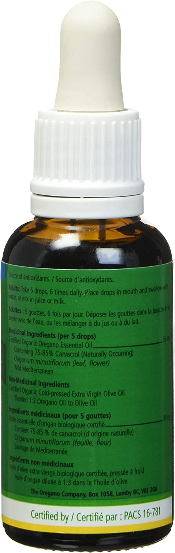 Amazon.com: Aceite de orégano, 1.0 fl oz, 100% orgánico ...