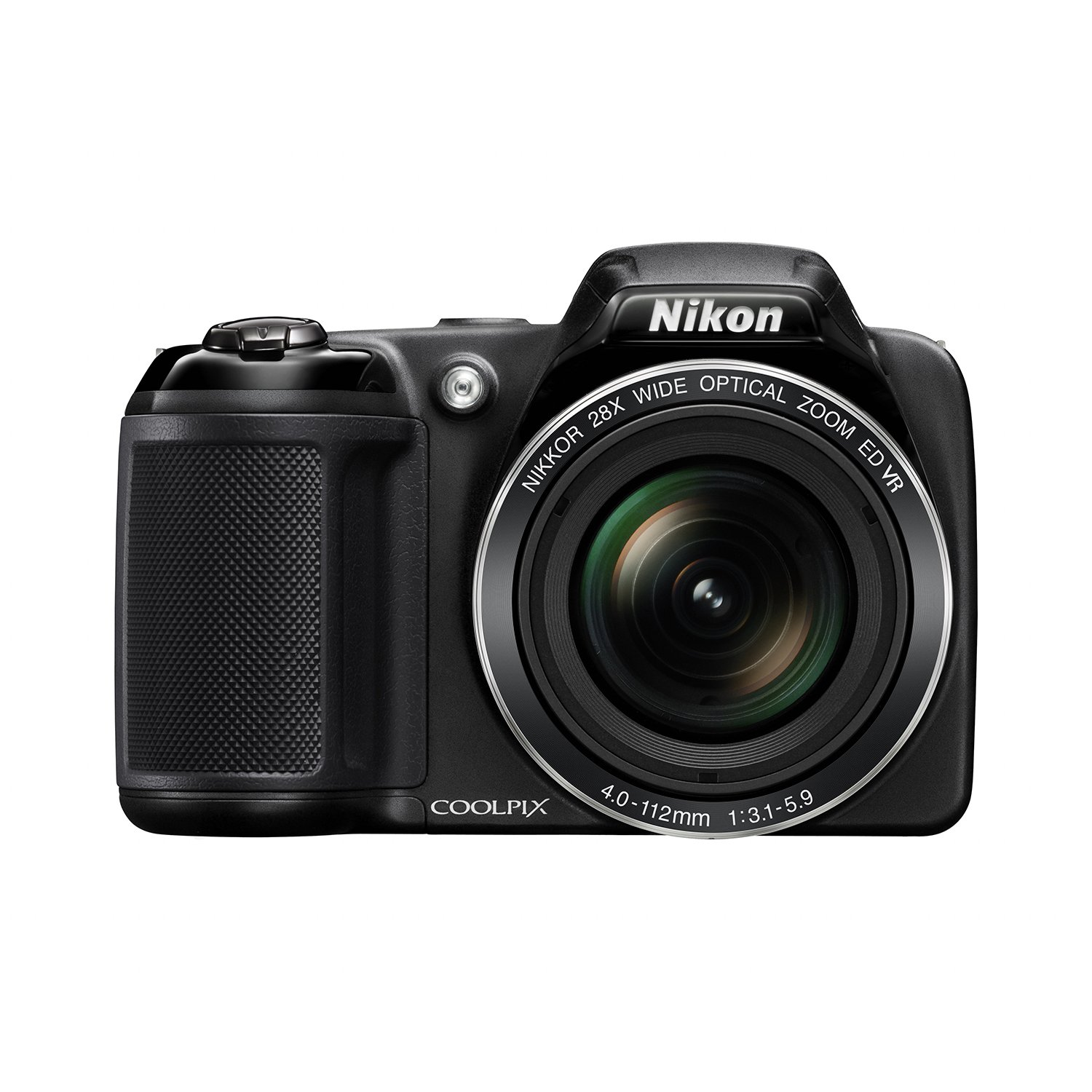 Nikon Coolpix L340 20.2MP Digital Camera with 28x Optical Zoom by Nikon