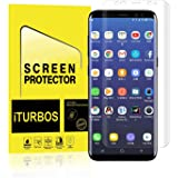 Galaxy S8 Plus Screen Protector,[2-Pack] iTURBOS Full Screen Coverage 3D PET HD Screen Protector Film for Samsung Galaxy S8 Plus.