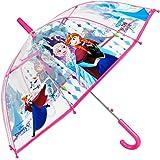 Paraguas Largo Disney Frozen Niña Estampado Elsa y Anna ...
