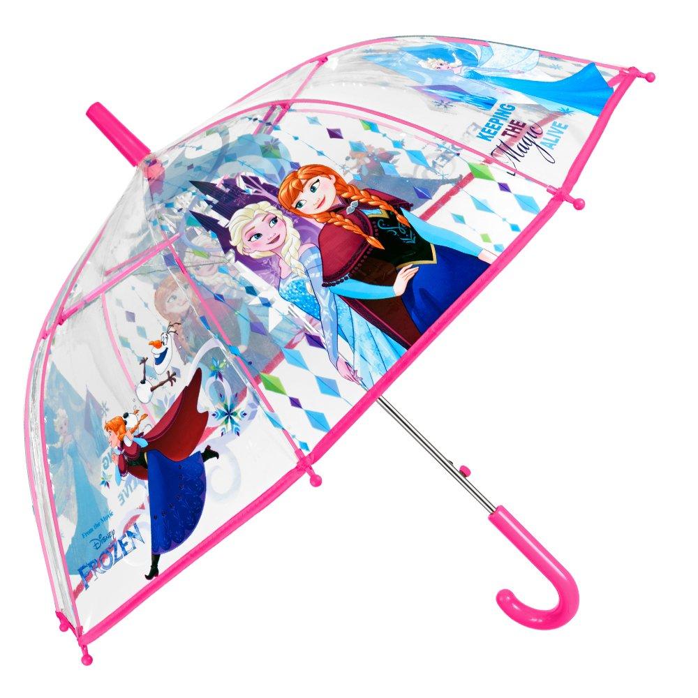 Bonito paraguas con estampado de Frozen.