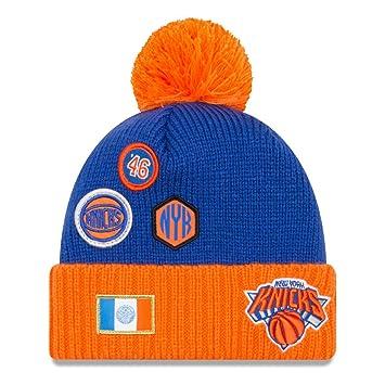 wholesale dealer ec90d c4471 New Era NBA DRAFT 2018 Bobble Beanie - New York Knicks