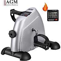 AGM Fitness Mini Cyclette Pedaliera per Braccia e Gambe