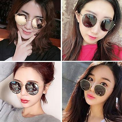 34cc162419 DT Gafas de Sol Femeninas Gafas de Sol polarizadas Gafas Coreanas Delgadas ( Color : 5