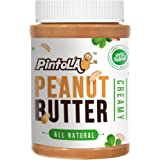 Pintola All Natural Creamy Peanut Butter, 1Kg (Unsweetened, Non-GMO, Gluten Free, Vegan)-Best-Popular-Product