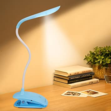 LED Desk Lamp Table Lamps Clip-on Desk Lamps Dimmable Touch Eye ...