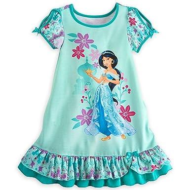 583bb78b3960 Amazon.com  Disney Store Princess Jasmine Little Girl Short Sleeve ...