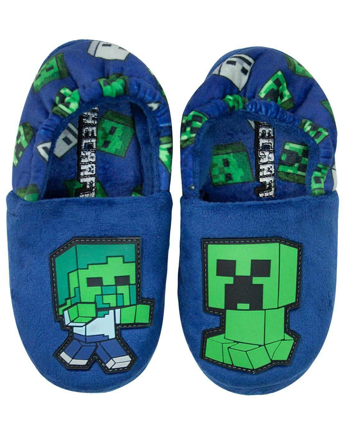 Minecraft Creeper vs Zombie Boys Blue
