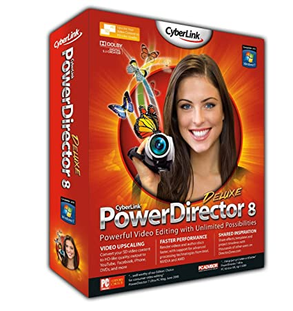 Paid by credit card cyberlink powerdirector 8 ultra