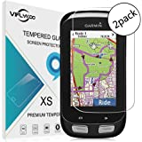 Garmin Edge 1000 Screen Protector(2 Pack), Viflykoo 9H Hardness 2.5D Ultra-thin Anti-Scratch HD Clear Ballistic Tempered Glass Screen Protector for Garmin Edge 1000