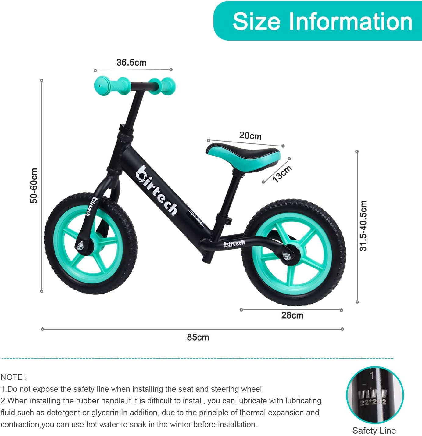 AB26 Clamp Bike Seat Post Clamp Quick Release Bicycle Post Saddle Mount Seat