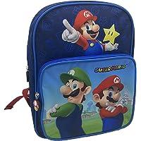 Rugzak voor kleuterschool 30 cm met tas Super Mario Blue Bagtrotter