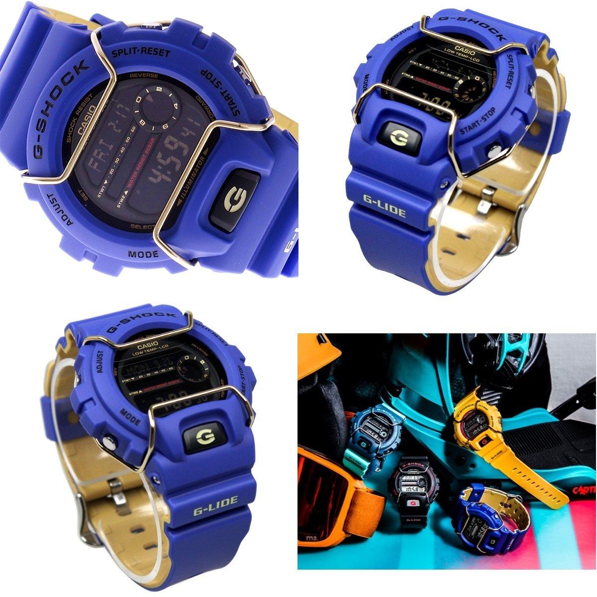 G-SHOCK G-Lide 20気圧防水 デジタル プラベルトウォッチ メンズ(GLS-6900-1 GLS-6900-2 GLS-6900-9) (GLS-6900-9(オレンジ)) B06WWLGXR7  GLS-6900-2(ブルー)