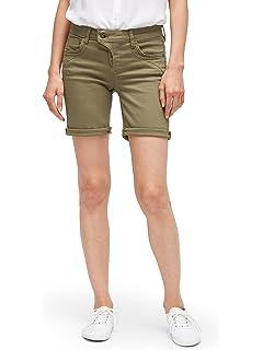 b72ae344f4579c TOM TAILOR Damen Alexa Denim Pants Stan Bermuda: Amazon.de: Bekleidung