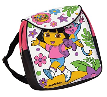 89173900d389 Dora Colour In Backpack Dora the Explorer  Amazon.co.uk  Toys   Games