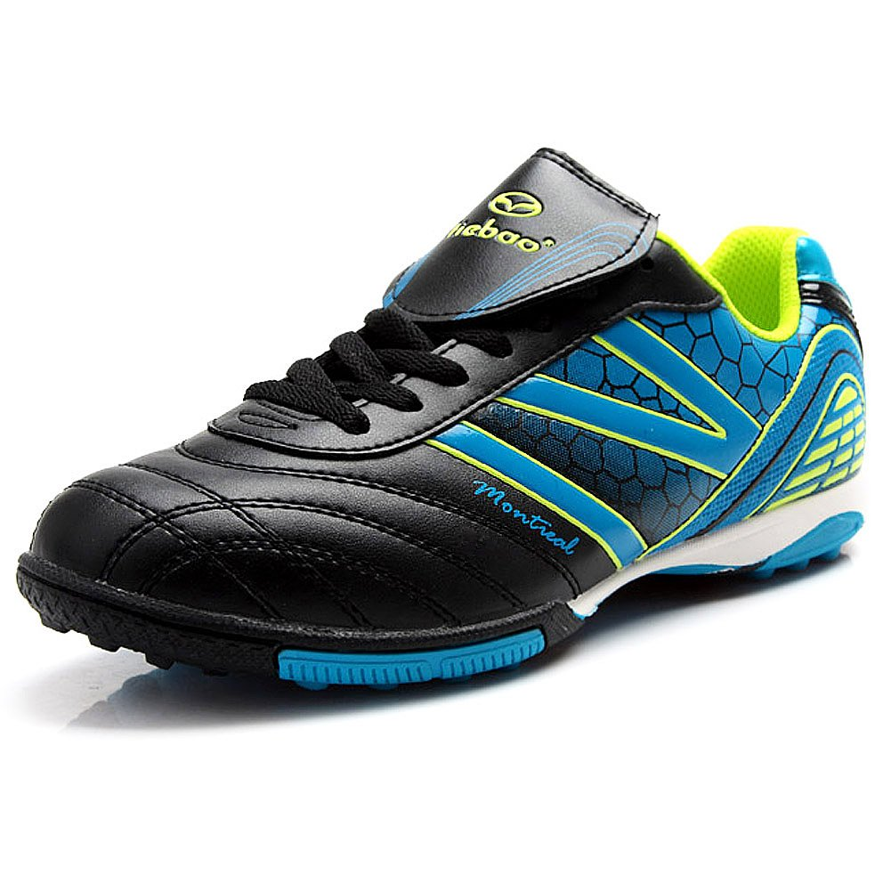 Tiebao Men's Hard Ground IC Athletic Soccer Pu Leather Football Shoes 15107