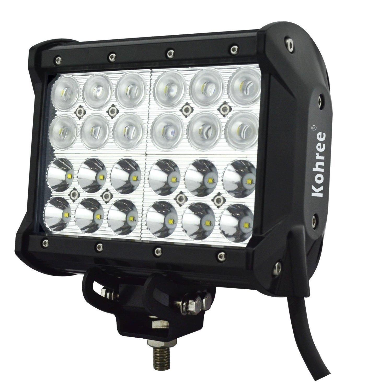 Amazon.com: Kohree 7 Inch 72W Off Road LED Work Light Bar Fog ...