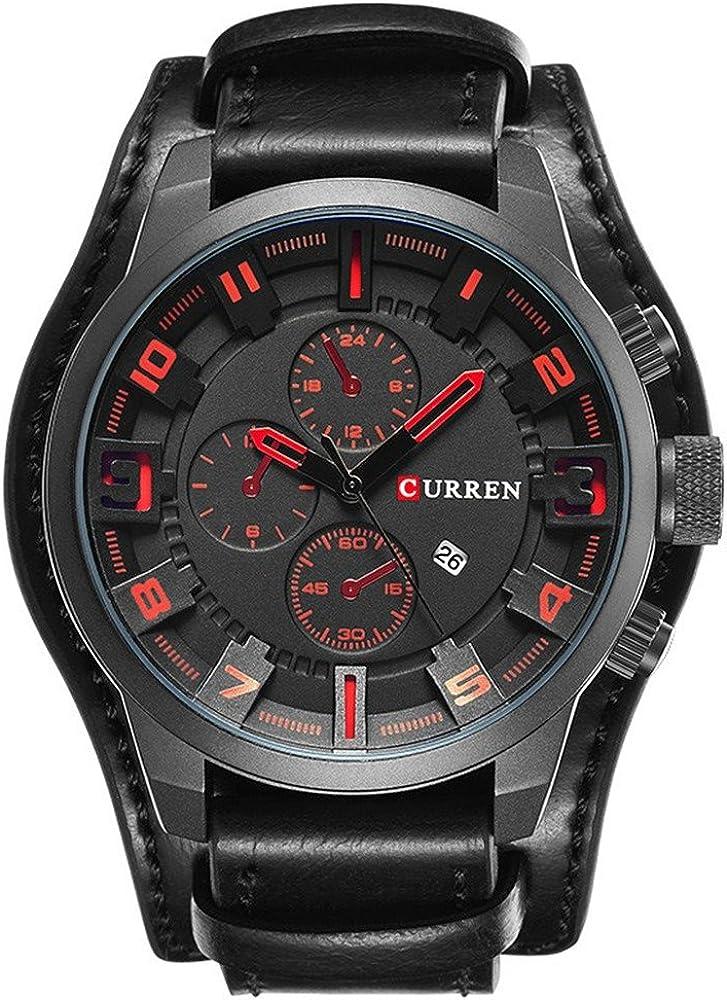 Curren - Reloj de pulsera para hombre, ideal para cualquier ocasión, diseño moderno