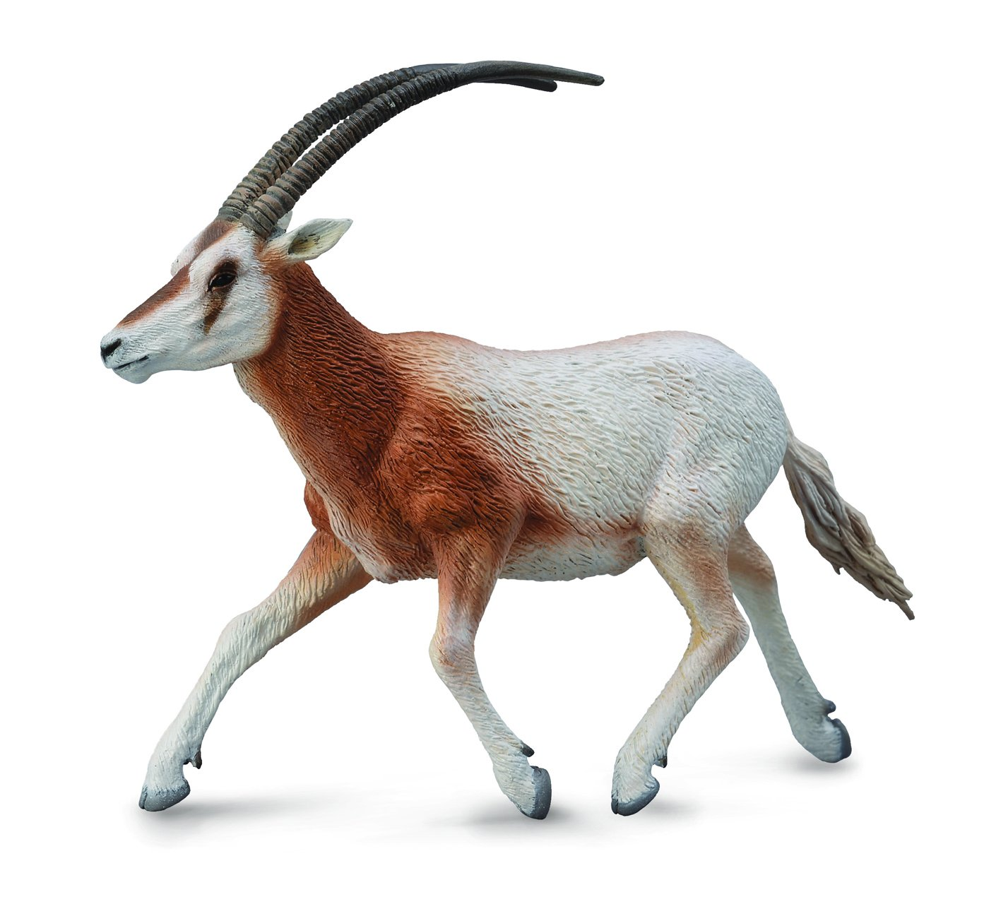 CollectA Wildlife Scimitar-Horned Oryx Toy Figure - Authentic Hand Painted Model