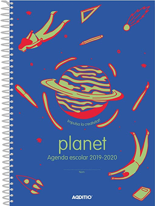 Amazon.com: Planet Agenda Catalan 2019-20 Additio for ...
