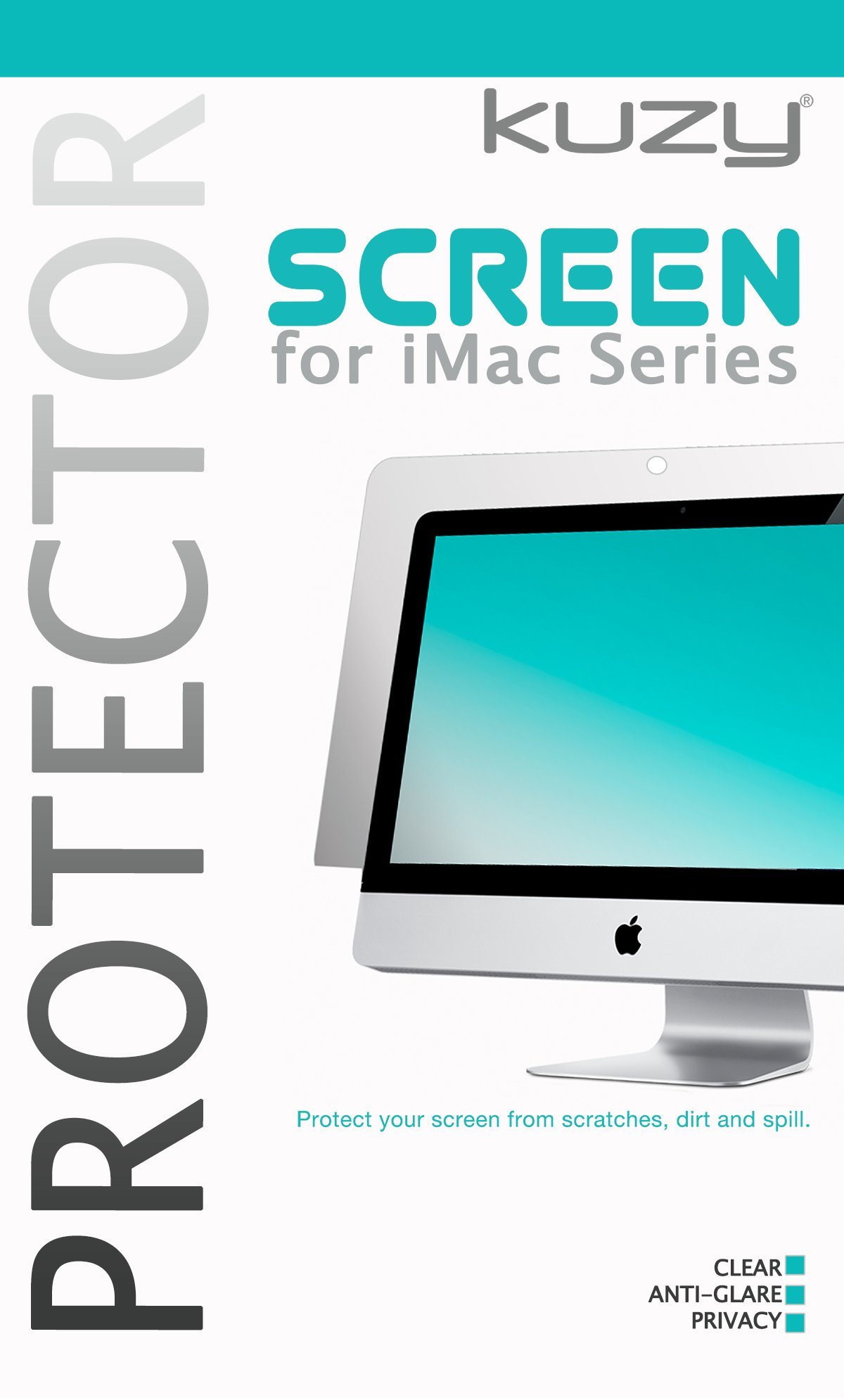 Kuzy - Anti-Glare Matte Screen Protector Filter for 27 inch iMac Desktop Display 27'' Model A1419 A1312 and iMac Pro 27-inch A1862 - Anti-Glare