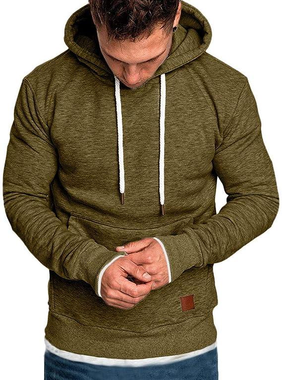 Sweat à Capuche Zippé Homme Sweat Shirt a Capuche Sport Hoodies Sweatshirt Pull Zippé Veste Sweat Uni Hoodie Zippée Epais Oversize Sweet Sportswear