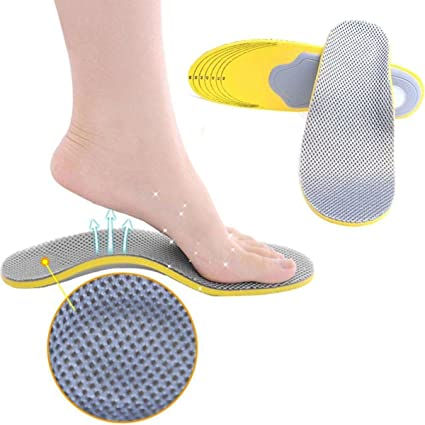 Feet Care 1 Pair 3d Premium Women Men Comfortable Shoes Orthotic Insoles Inserts High Arch Support Pad Novelty & Special Use